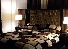 غرفة نوم لاتية قشرة بلوط استخدام خفيف