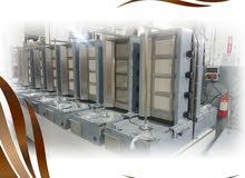 تجهيز وتصنيع معدات المطاعم وثلاجات العرض و معدات الفنادق والكوفي شوب ومصانع الثلج