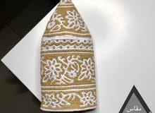 كميم خياطة يد تقليد عماني وقماش عماني 100٪