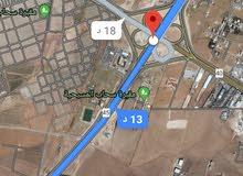 للبيع ارض 12 دونم صناعات شارع الميه مقابل الترخيص