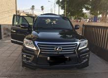 Black Lexus LX 2012 for sale
