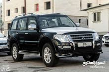 Renting Mitsubishi cars, Pajero 2017 for rent in Amman city