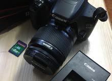 كاميرا كانون 1200دي مع عدسه 18-55