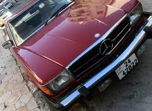 Used condition Mercedes Benz SL 1977 with +200,000 km mileage