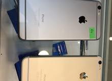 ايفون 6 بلس 16 جيجا و 64 جيجا مستعمل بحالة الجديد كفالة 3سنوات