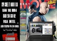 HP ZBOOK 15 G3 CORE I7 +رمات 16 جيجا DDR4 +فيجا AMD FIRPRO W4190M DDR5
