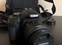 كاميرا كانون 600D