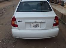 White Hyundai Verna 2002 for sale