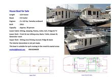 House Boat for Sale in Dubai