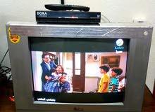 تلفزيون + رسيفر  ( للبيع )