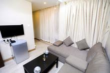 furnished studio for rent in Mangaf 1 living room and 1 bedroom call 99552502