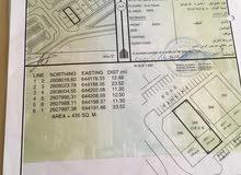 للبيع ارض س ت ف بوشر عند عمان مول