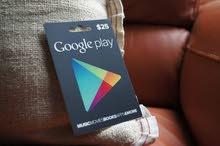 بطاقات جوجل بلاي 5$ -10$ مضمونة شحن رغم مشكلة جوجل بلاي