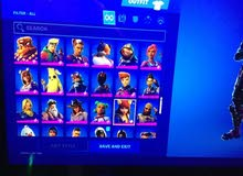 fortnite 160+ skin with all info epic ps4