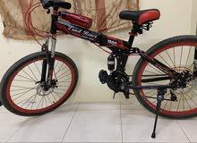دراجة هوائية قابلة للطي نظيفة جدا