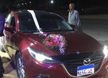 للبيع - سيارة مازدا 3 موديل 2017 - 90 ألف كيلو