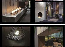 Bio Ethanol Fireplace for indoor and outdoor