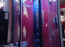 حمام غرف نوم داخلي زاويه 90 س الطول 2 م البانيو40 س لوحه تحكم لمس ابلتوث راديو