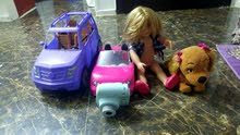 instax camera,2 barbie cars American doll for sale