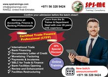 with 30% discount -  Be a Certified Trade Finance Professional