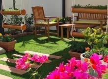 تصميم وتنفيذ حدائق منزليه واجهزة ري حديثه