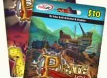 بطاقات KingsIsle Pirate101 بأسعار مميزة