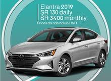 Hyundai Elantra 2019 for rent