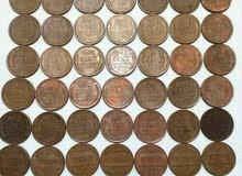 سنتات امريكي 47 سنت من1940 ولغاية 1970 بسعر 9 دنانير