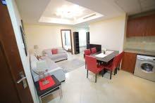 دبي jlt  ابراج بحيرات الجميرا غرفتين وصاله مفروشه سوبر لوكس للإيجار الشهري