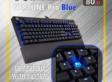 Neptune PRO Blue Keyboard / كيبورد جيمنج بأفضل الاسعار / Gaming Keyboard / عروض THERMALtake