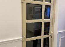للبيع باب المنيوم اللون بيج aluminum door for sale
