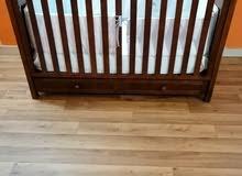 سرير اطفال سلفركروس silver cross