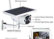 كاميرا مراقبه علي الطاقه الشمسيه بشريحة 4G