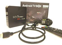 MXQ بوكس بنظام اندرويد 7.1 اي بي تي في(iptv)