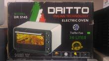 فرن كهربائي مستورد 36 لتر بالشواية DRITTO