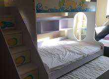 سرير اطفال طابقين