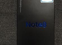 نوت 8 جديد غير مستعمل 64جيجا اللون اسود