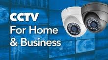 كاميرات مراقبه ودش مركزي وبدالات وانتركم وسماعات سقف وانظمه صوتيه