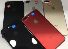 ايفون 7 بلس 32و 128 و 256 جيقا مستعمل