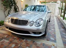 Mercedes Benz E55 AMG 2004 For sale - Silver color