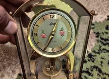 ساعة مكتبية موديل الخمسينات انتيكا جميلة جدا Made in Germany