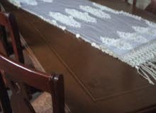 طاولة سفره ثمانية مقاعد بحاله الوكاله