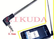 3.5mm connector FM Radio Antenna for Radio Mobile Cell Phone