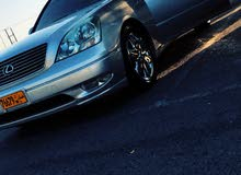 Lexus LS 2001 For sale - Silver color