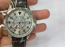 Boieng Leather Watch Black with box