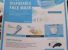 face mask 3 ply FDA approved