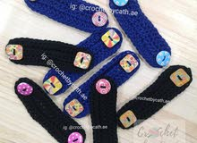 Crochet Ear Savers / Ear Straps for MEN and WOMEN (Special Buttons)