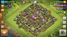 قريه كلاش اوف كلانز clash of clans تاون 11