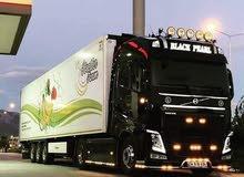 خدمات نقل البضائع والشحن البري