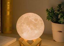 القمر المضيء moon light  ديكور اضائه منظر